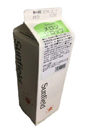 三田飲料メロンシロップ紙パック1000ml