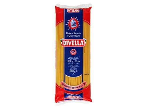 スパゲッティ DIVELLA ディベラ #8 1kg 1.75mm ロングパスタ画像