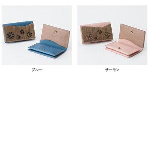 【VARCO/ヴァーコ】リアルウッドフルールカードケース
