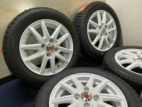 送料無料155/65R14VRXホイール&タイヤセット在庫有