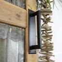 アイアンハンドル HANDLE ドアプレート プレート式 プレートタイプ シンプルなデザインのアイアンハンドル アイアンハンドル 扉 リメイク DIY ブラック アンティーク
