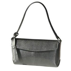 ライム☆本革 フォーマル ハンドバッグ L1277ブラック(黒)フォーマルバッグ 入園式 入学…