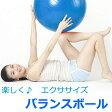 【送料無料】バランスボール 55cm/65cm ( ポンプ付 ) 送料無料! ダイエット器具 バランスボール ヨガボール エクササイズ 骨盤枕 ヨガマット