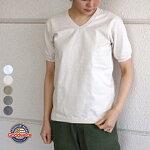SサイズグッドウェアリブVネックTシャツ無地半袖レディースngt1701GOODWEAR[ネコポス]