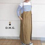 D.M.Gドミンゴリネンキャミワンピースサロペットスカート