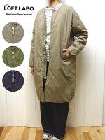 3色2サイズロフトラボアンディドロップショルダーコクーン日本製ダウンコートレディースTHELOFTLABOANDY