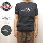 グッドウェアリブクルーネックポケットナンバーTシャツロゴプリント半袖TレディースメンズGOODWEAR