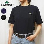 ラコステコットンピケクルーネックTシャツメンズレギュラーフィット半袖LACOSTE