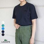 ラコステ製品染め半袖TシャツクラシックフィットレディースメンズLACOSTE[ネコポス]