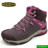 キーンKEENAPHLEXMIDWP1015384エーフレックスウォータープルーフハイキングシューズ紫レディース