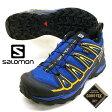 <送料無料>サロモン SALOMON X ULTRA 2 GTX 393517 青 ゴアテックス 防水 ハイキング 登山靴 メンズ【あす楽_土曜営業】【RCP】