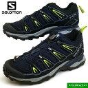 サロモン SALOMON X ULTRA 2 394738 紺 ハイキング 登山靴 メンズ