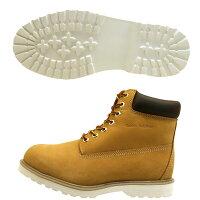 ゴールデンレトリバーGoldenRetriever3706黄ウィート6インチワークブーツ本革メンズ