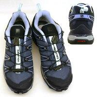 サロモンSALOMONXULTRA2GTXW393047青紫ゴアテックス防水ハイキング登山靴レディース