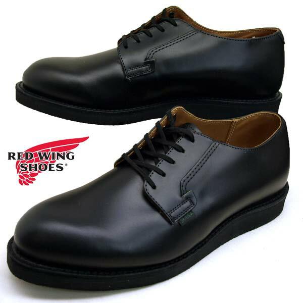 メンズ靴, ビジネスシューズ  RED WING Postman Oxford 0101 Black