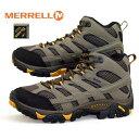 メレル MERRELL MOAB 2 MID GTX WIDE WIDTH モアブ ミッド ゴアテックス ワイド J06057W 防水 透湿 登山靴 トレッキング メンズ