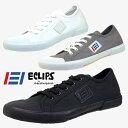 エクリプス ECLIPS 42004 Bionaz ビオナ ローカット ロングノーズ キャンバス スニーカー メンズ