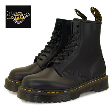 [日本正規品]ドクターマーチン Dr.Martens 1460 BEX 25345001 厚底 8ホール ブーツ 黒 レディース/メンズ