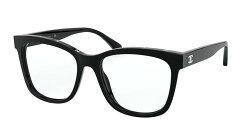 シャネルメガネフレームCHANEL新作2019品番ch3392-c501カラーBLACKフィットStandardレディース/メンズ人気誕生日ギフトおしゃれケースかわいいココマーク伊達めがね用/老眼鏡用/度付き用トレンドクリエンテブランド海外通販関税,送料込