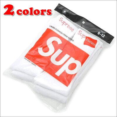SUPREME (シュプリーム) Hanes Crew Socks