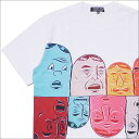 COMME des GARCONS HOMME DEUX コムデギャルソン オムドゥー x Barry McGee FACE TEE Tシャツ WHITE 200007709040x【新品】 半袖Tシャツ