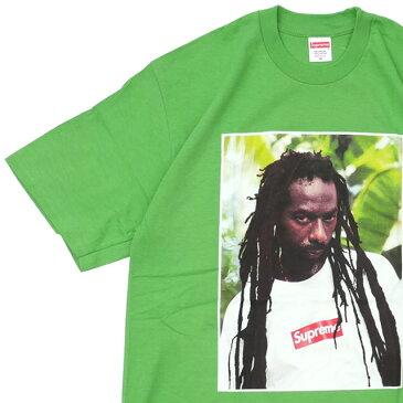新品 シュプリーム SUPREME Buju Banton Tee ブジュ・バントン Tシャツ GREEN グリーン 緑 メンズ 新作 半袖Tシャツ