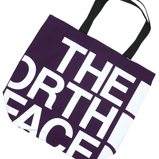 男女兼用バッグ, トートバッグ  THE NORTH FACE PURPLE LABEL Logo Print Tote PURPLE NN7954N