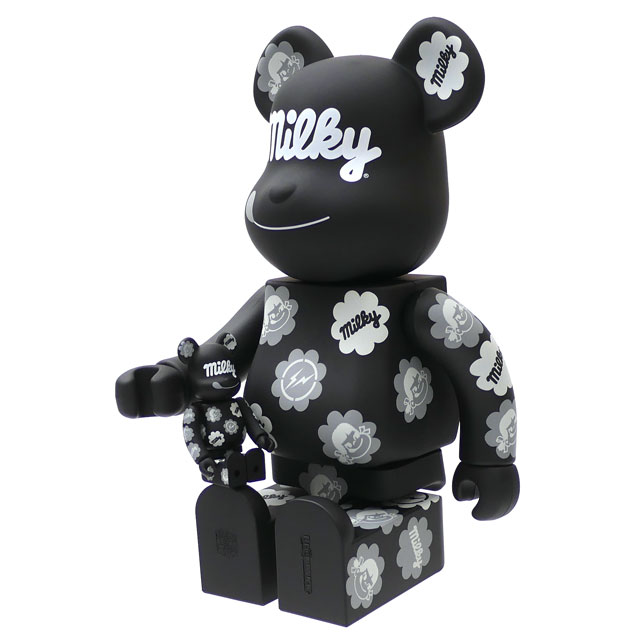 バッグ・小物・ブランド雑貨, その他  THE CONVENI x Fragment Design MEDICOM TOY MILKY BERBRICK 100 400 BLACK