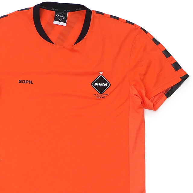 トップス, Tシャツ・カットソー  F.C.R.B. GAME SHIRT ORANGE S 103000402038 (T) 39