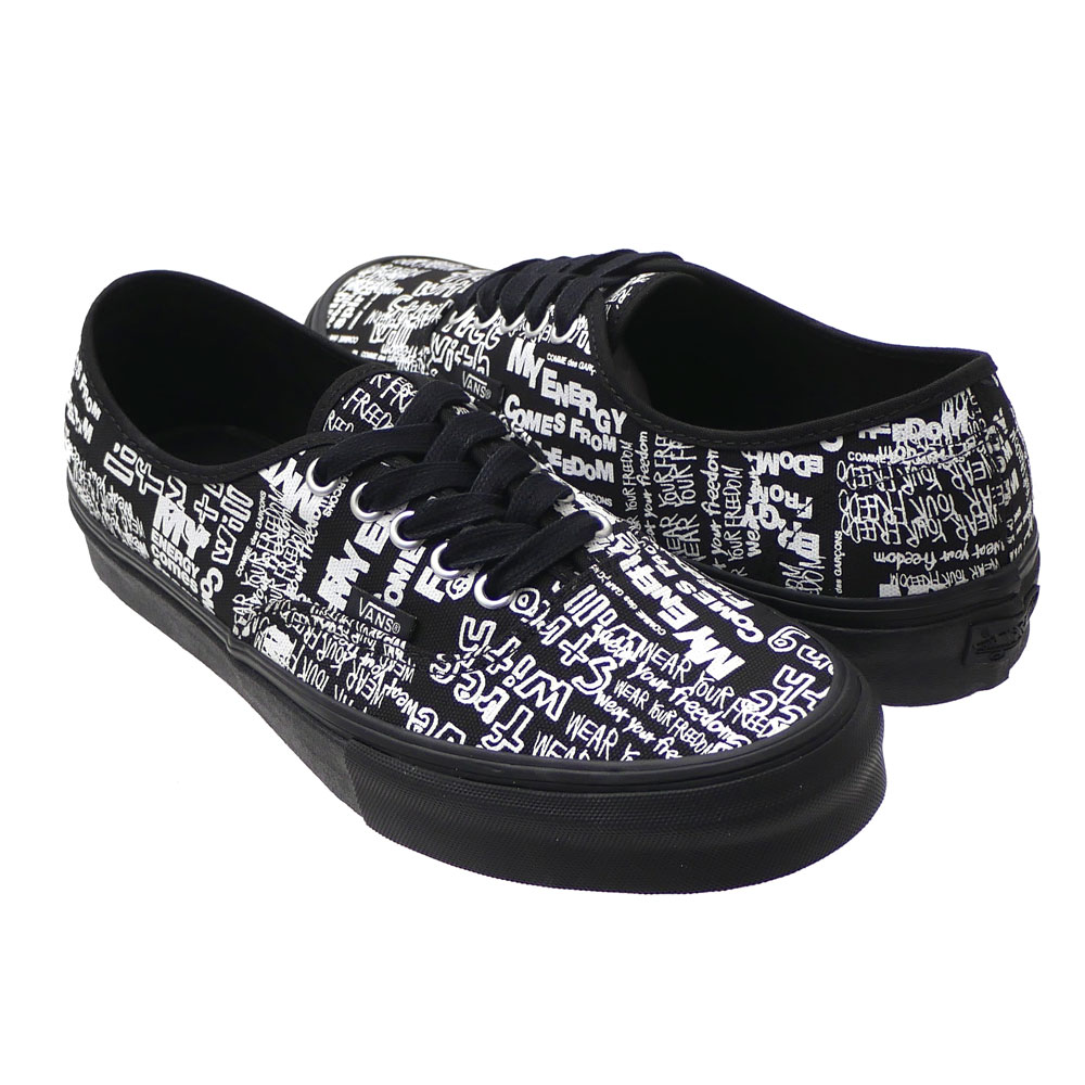 52c6d9ae93 COMME des GARCONS x VANS VAULT   Authentic BLACK