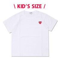 プレイ コムデギャルソン PLAY COMME des GARCONS KIDS HEART WAPPEN TEE Tシャツ WHITE 200007980520 【新品】