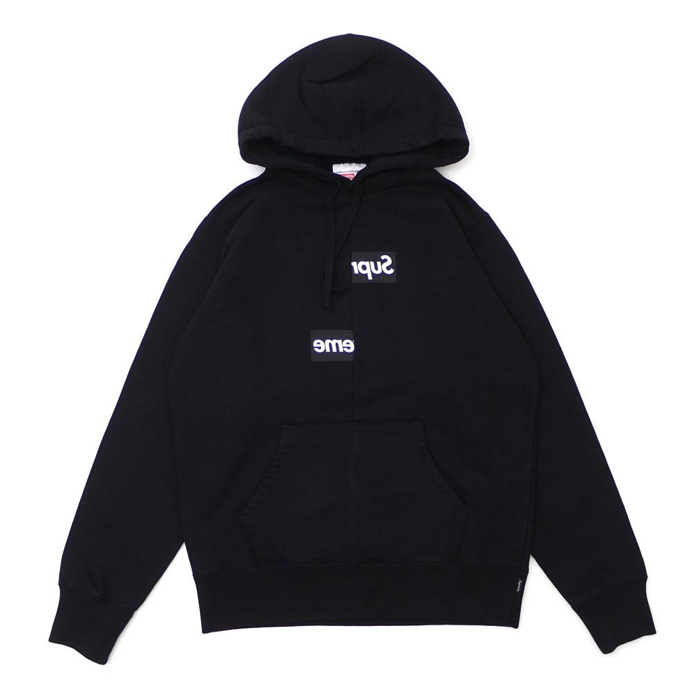 9d291d8e6de4 SUPREME x COMME des GARCONS SHIRT : Split Box Logo Hooded Sweatshirt ...