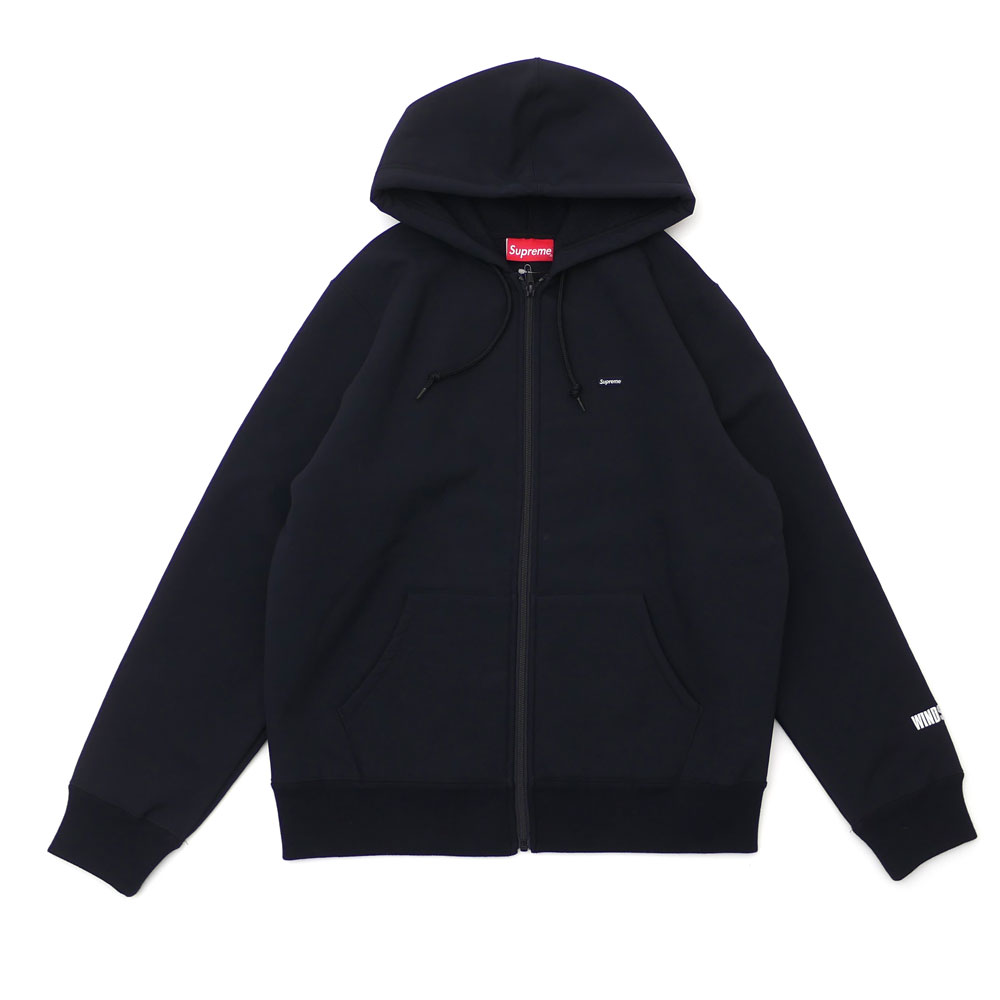 d89e18e34f82 Here comes Zip Up Hooded Sweatshirt made of GORE WINDSTOPPER fabric. Please  check Small Box Logo on the front chest.