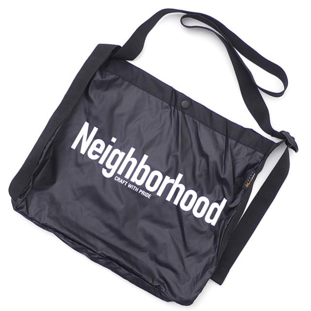 メンズバッグ, ショルダーバッグ・メッセンジャーバッグ  NEIGHBORHOOD ID N SHOULDER BAG 182LBNH CG02S BLACK 277002555011