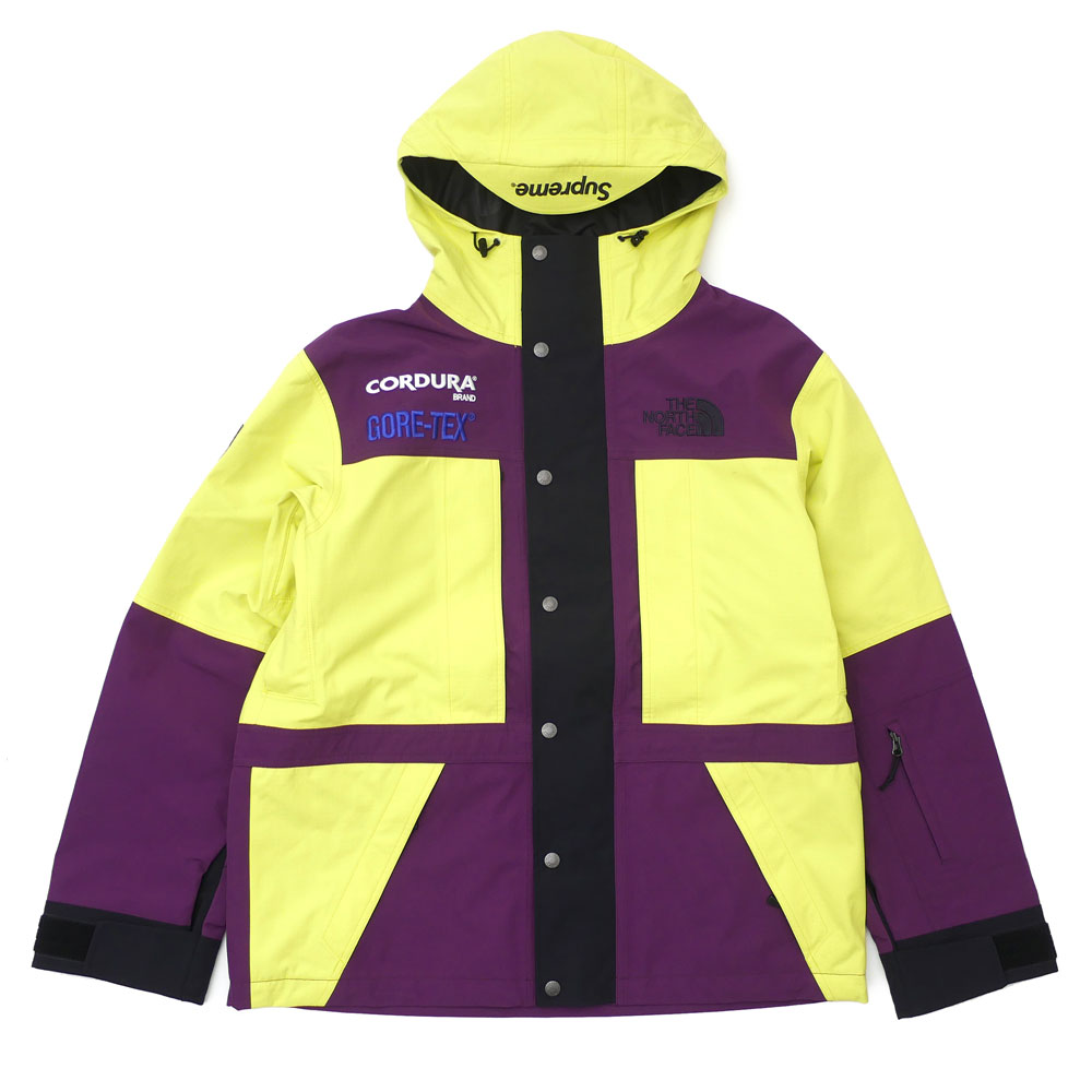 f5473e34 The hot collaboration of SUPREME x THE NORTH FACE came true again!!  Expedition Jacket made of functional GORE-TEX fabric and durable