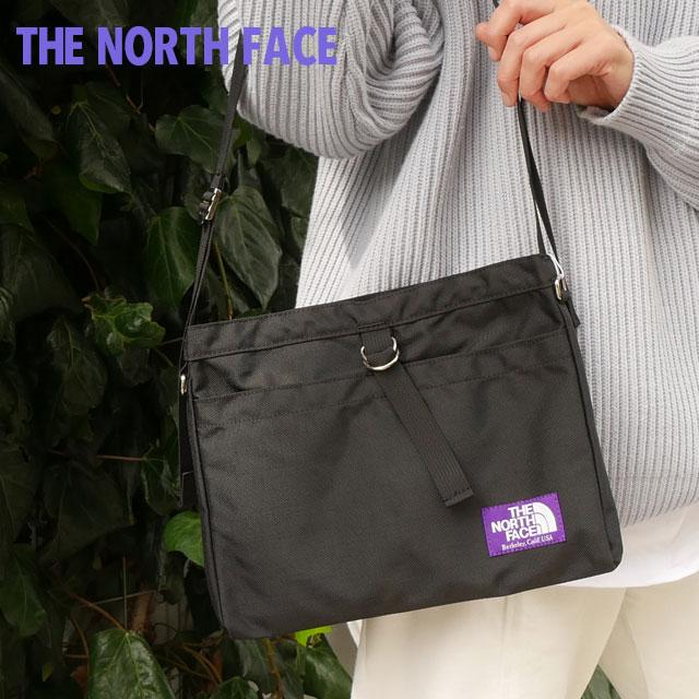 メンズバッグ, ショルダーバッグ・メッセンジャーバッグ 14:00 THE NORTH FACE PURPLE LABEL Small Shoulder Bag BLACK NN7757N 275000185011