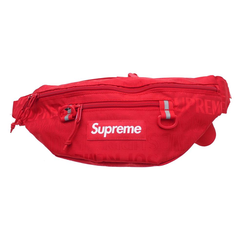 SUPREME : Waist Bag RED