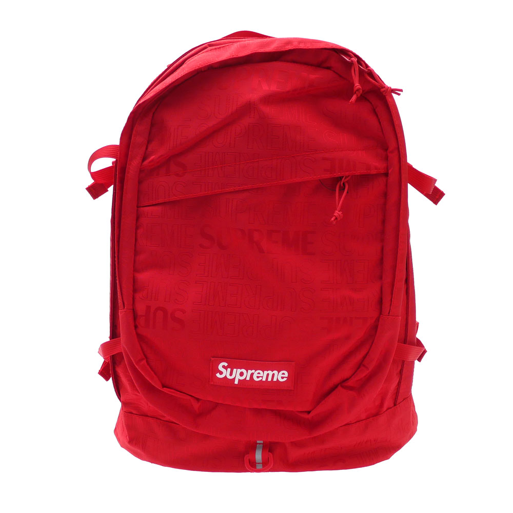 SUPREME : Backpack RED