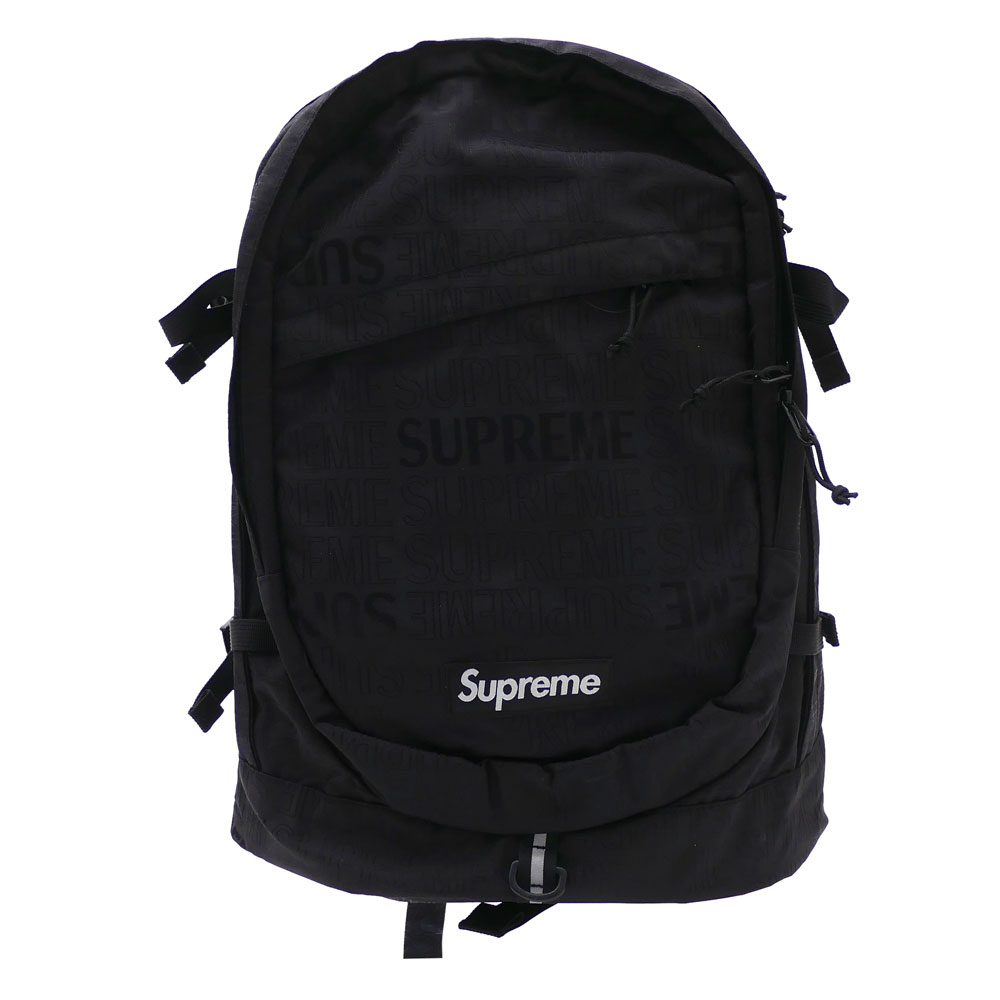 SUPREME : Backpack BLACK