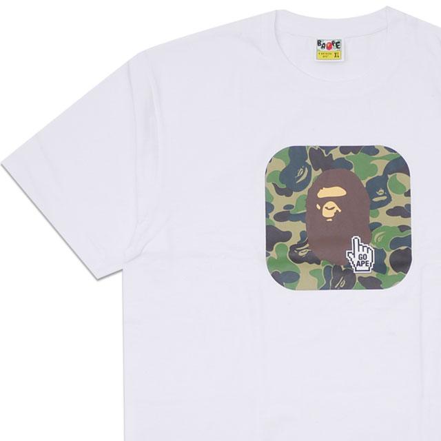 トップス, Tシャツ・カットソー  A BATHING APE BAPE ONLINE ABC TEE T WHITE 1F25110045 200008111060