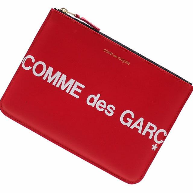 メンズバッグ, クラッチバッグ・セカンドバッグ  COMME des GARCONS Huge Logo Pouch RED 288001196013