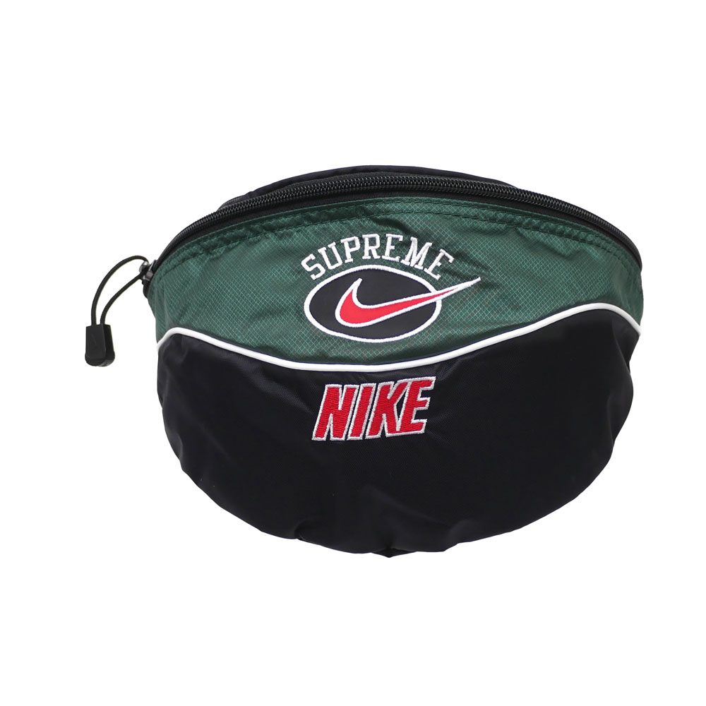 SUPREME x NIKE : Shoulder Bag GREEN