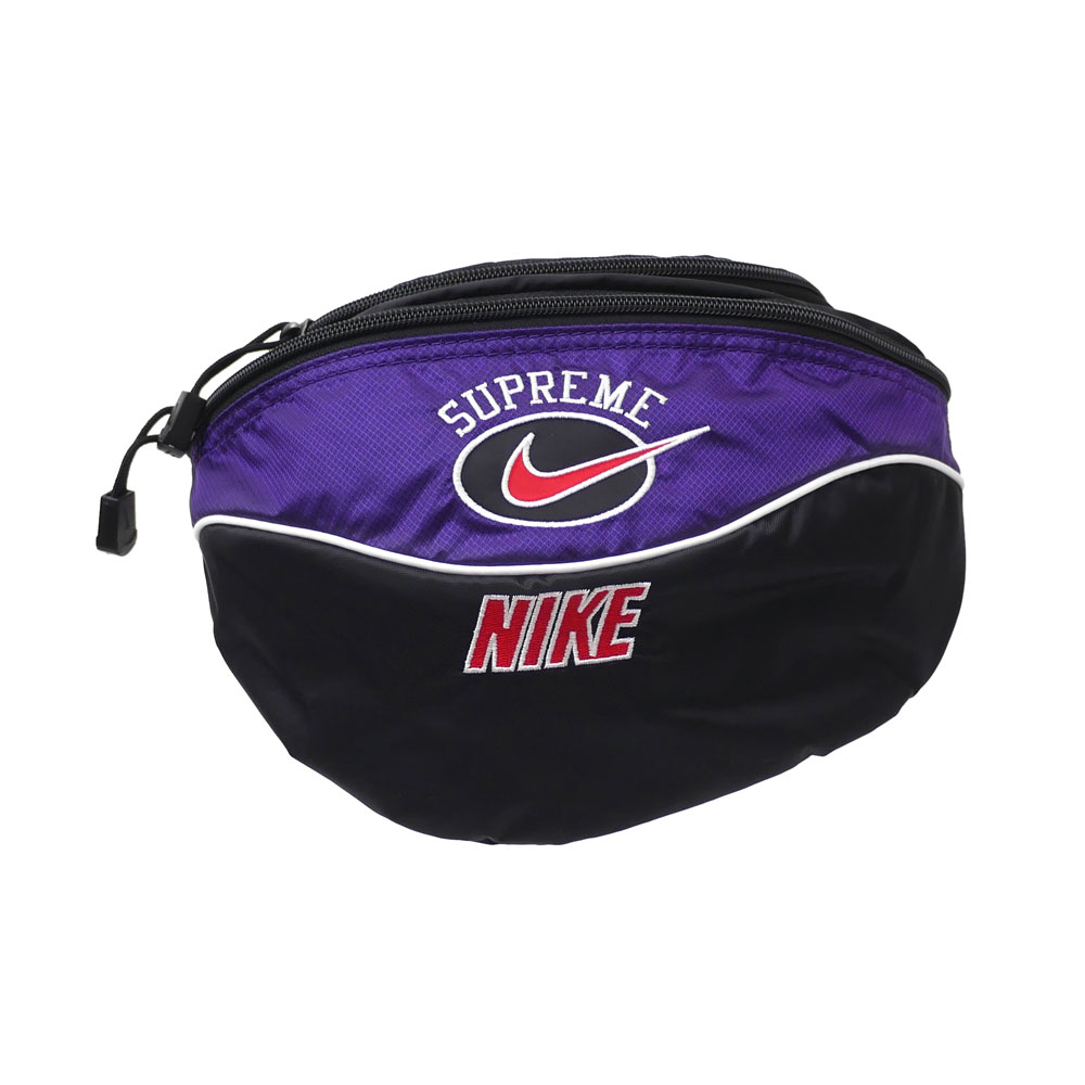 SUPREME x NIKE : Shoulder Bag PURPLE