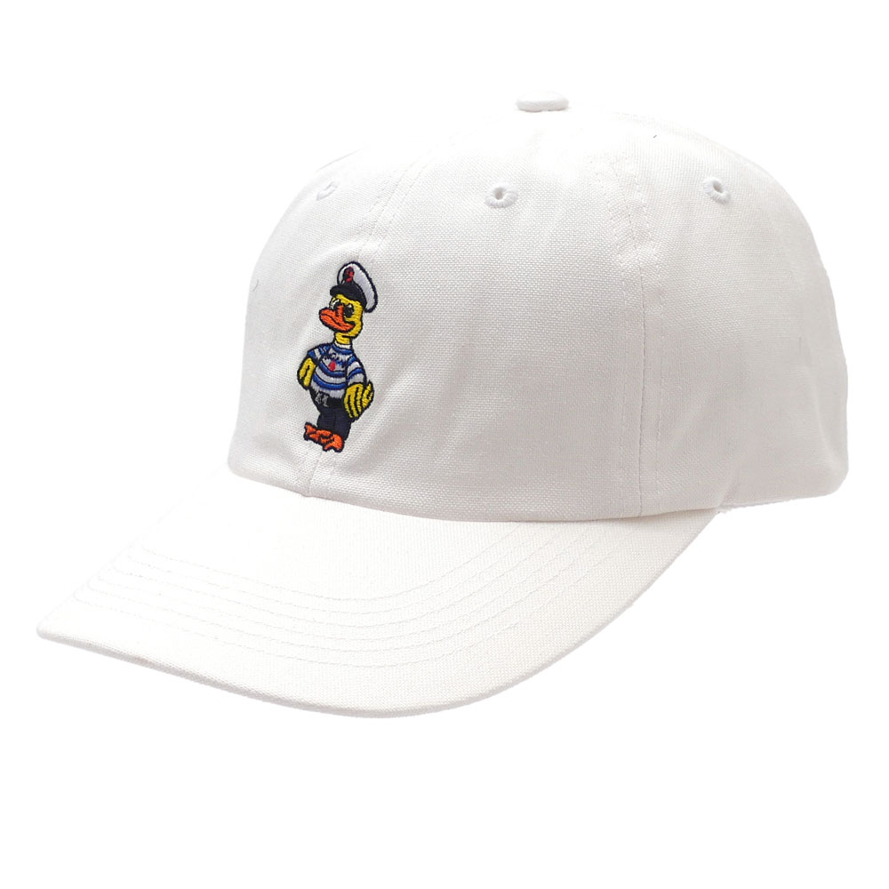 NOAH : Captain Duck 6-Panel Cap WHITE