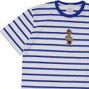 新品 ノア NOAH 19SS Captain Duck Stripe Top ボーダー Tシャツ BLUE ブルー 青 メンズ 新作 2019SS