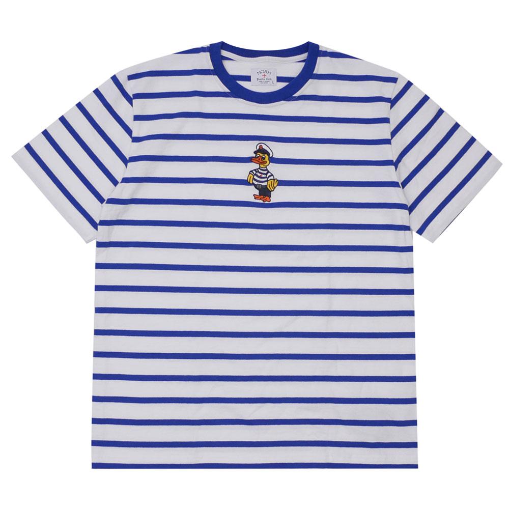 NOAH : Captain Duck Stripe Top BLUE