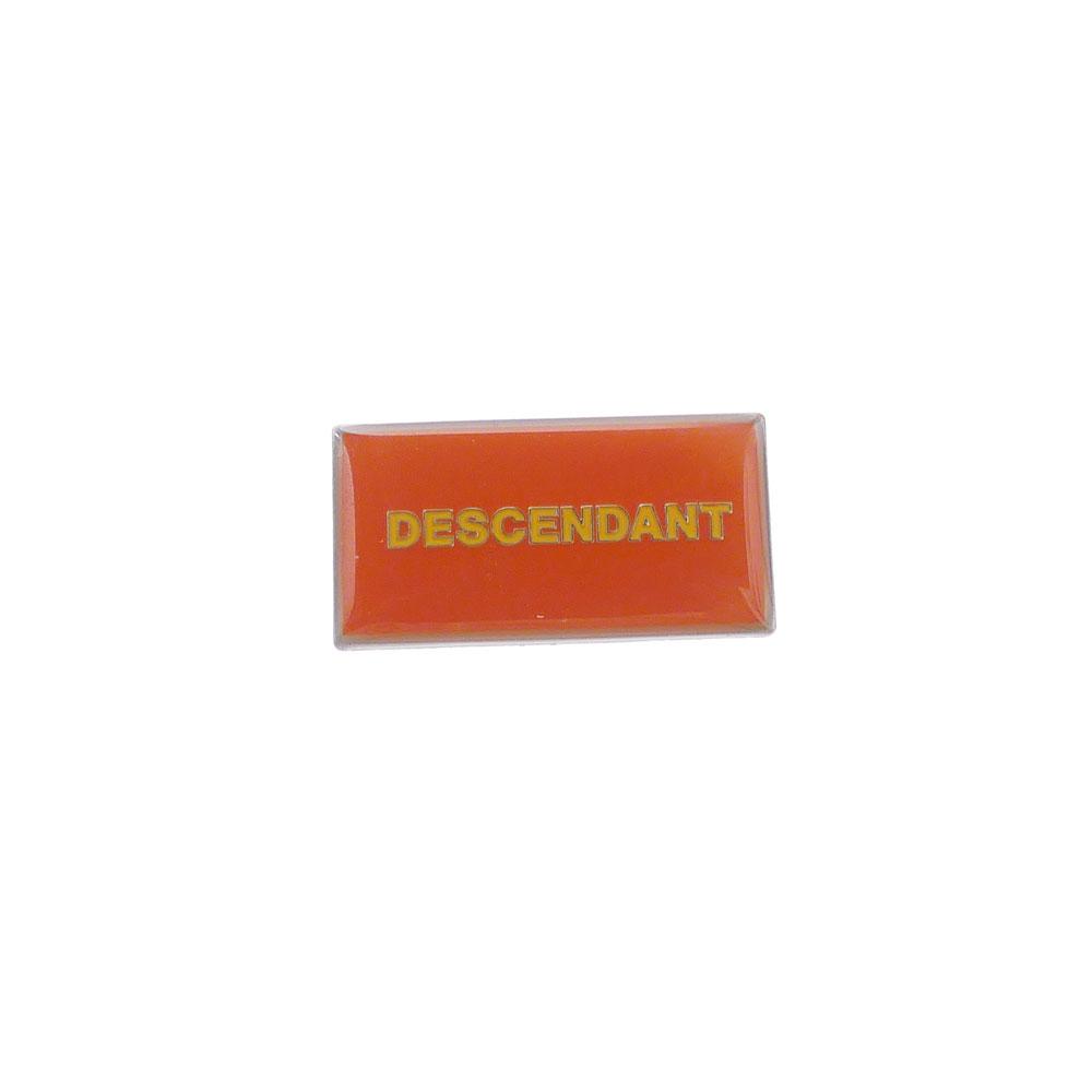 DESCENDANT : BOX PINS ORANGE 191MYDS-AC01