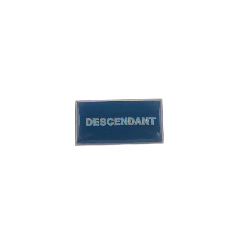 DESCENDANT : BOX PINS TEAL 191MYDS-AC01