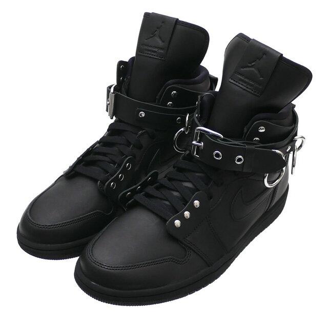 メンズ靴, スニーカー !!!! 117() 20!! COMME des GARCONS HOMME PLUS x NIKE AIR JORDAN 1 HI STRAP SP-C BLACK