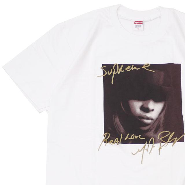 トップス, Tシャツ・カットソー 14:00 SUPREME Mary J. Blige Tee J T WHITE